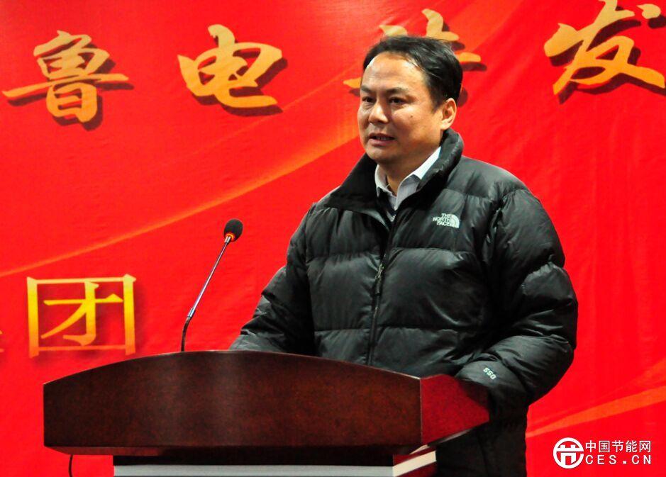 """鲁电集团董事长杨东廷被评为2015""""影响济南""""年度创新人物"""