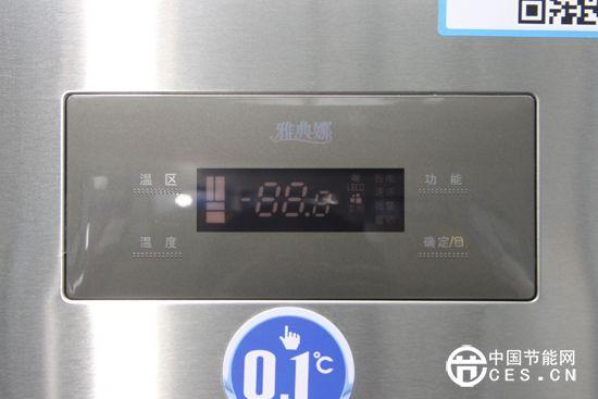 美菱bcd-356wpc冰箱控制面板