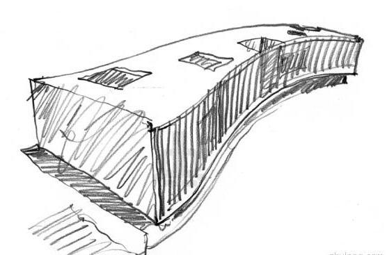 米兰的建筑手绘性标志