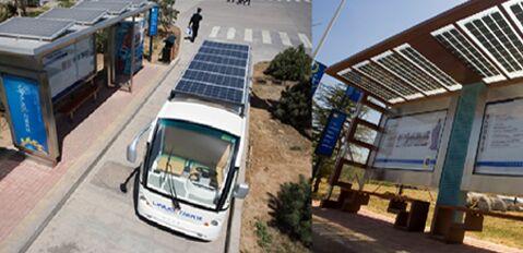 节能减碳 越南太阳能公车首次上路