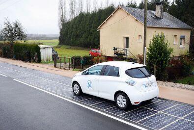 世界第一条太阳能公路在法国开放