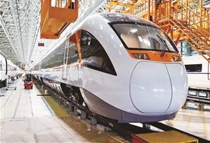 新能源城际动车组 内外和谐的轨道列车