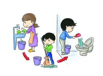 节约生活中的每一滴水,努力减少水污染