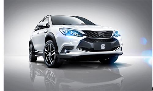 比亚迪唐等车型受追捧 新能源汽车私人消费热情高高清图片