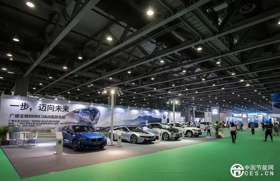 2017第二届中国(广州)国际新能源、节能及智能汽车展开幕