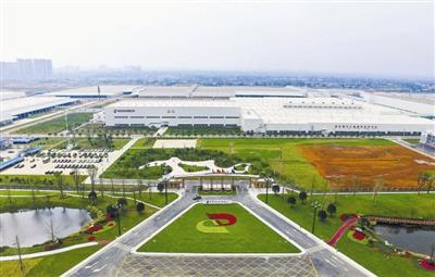 神龙汽车有限公司成都工厂 资料图片-绿色发展 2020年成都节能环保高清图片