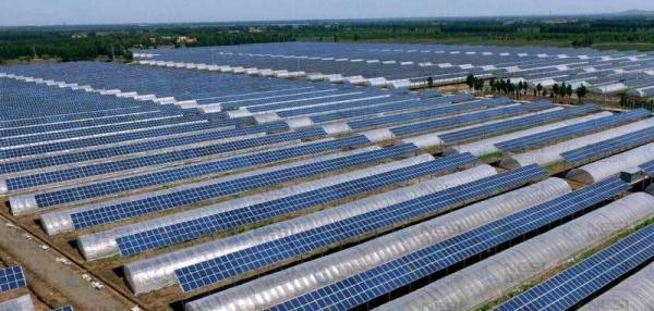 120MW光伏发电项目奠基 造血式扶贫助农民增收