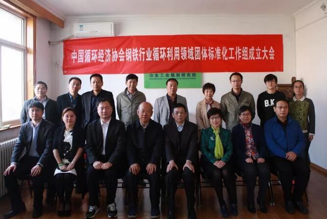 中国循环经济协会钢铁循环利用领域标准化工作组在京成立