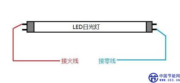 led日光灯安装使用说明书