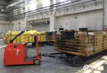节能降耗  地服货运引进站驾式牵引车