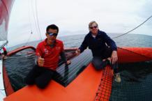 柔性薄膜太阳能开创性参与帆船航海 汉能GSE协手郭川横渡太平洋