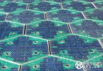让电动车边跑边充电的太阳能公路电池板!你见过吗?