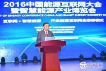 王忠敏在2016中国能源互联网大会暨智慧能源产业博览会上的演讲摘要